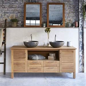 Meuble vasque salle de bain brico depot solutions pour for Salle de bain design avec meuble sous vasque bois castorama