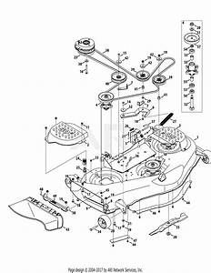 Troy Bilt 17arcacp011 Mustang 50 Xp  2014  Parts Diagram