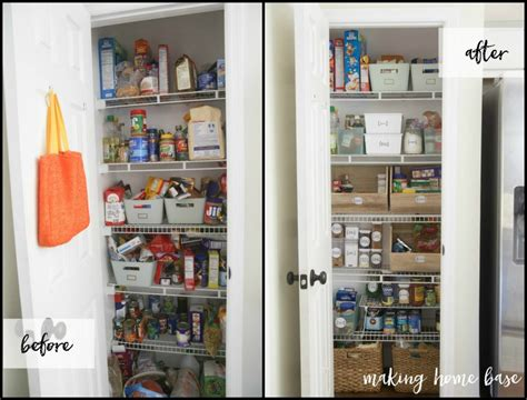 organizing kitchen cupboards ideas six steps to pantry organization with free printable labels 3795