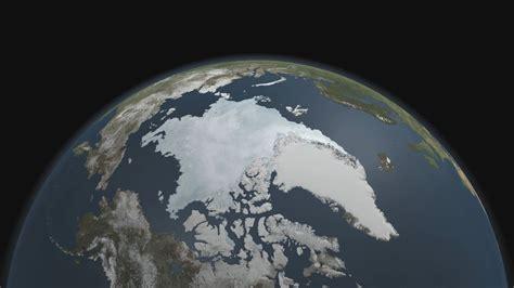 arctic sea ice  minimum hd video   sea ice