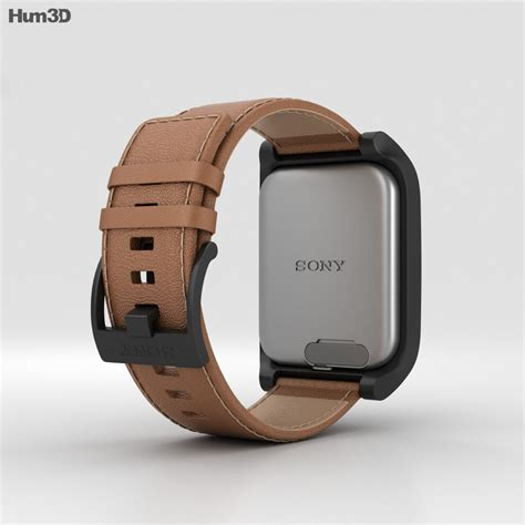 sony smartwatch  swr leather brown  model