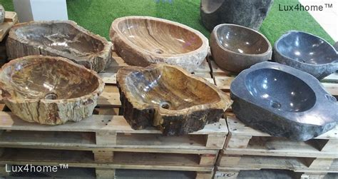 wooden sinks for sale petrified wood stone sinks fossil wash basins lux4home com