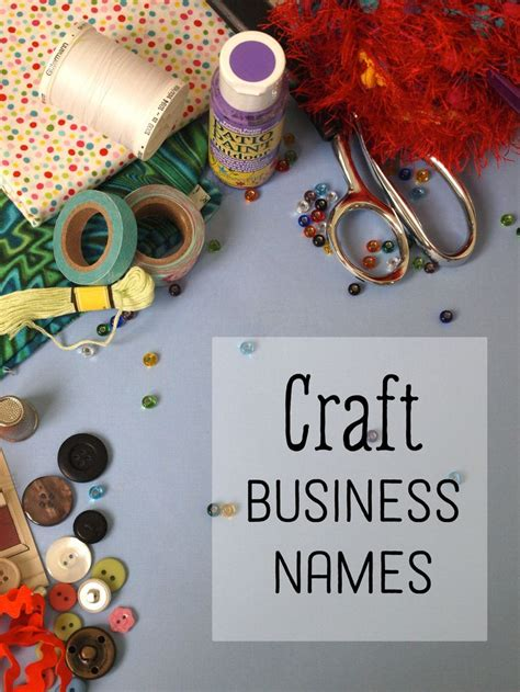 creative craft business names  crafts craft