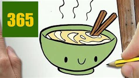 comment cuisiner des nouilles chinoises comment dessiner nouilles chinoises kawaii é par é
