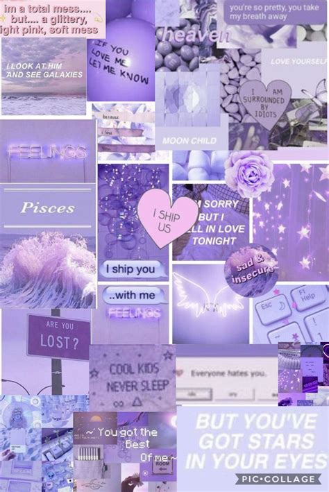 Purple Collage Wallpapers - Wallpaper Cave