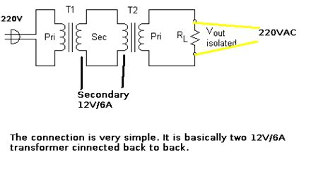 Making Isolation Transformer Under Repository Circuits