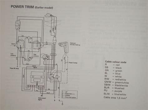 Volvo Pentum 270 Trim Wiring Diagram by Tilt Trim Help Saltwater Fishing Discussion Board