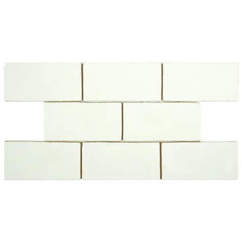 merola tile chester bianco 3 in x 6 in ceramic wall tile