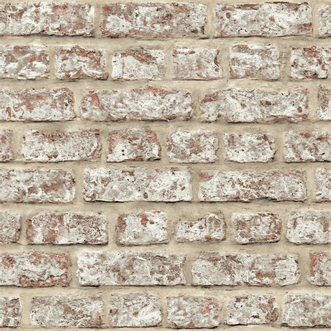 rustic brick walls arthouse rustic brick pattern painted stone effect wallpaper 889604