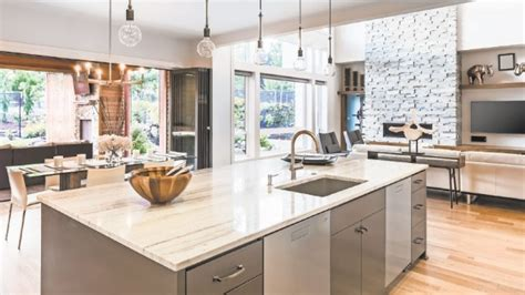 Kitchen countertop style   NewHomecentral