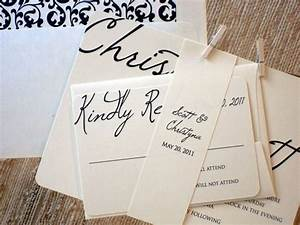 wedding invitations ideas and trends blogs avenue With easy wedding invitation ideas