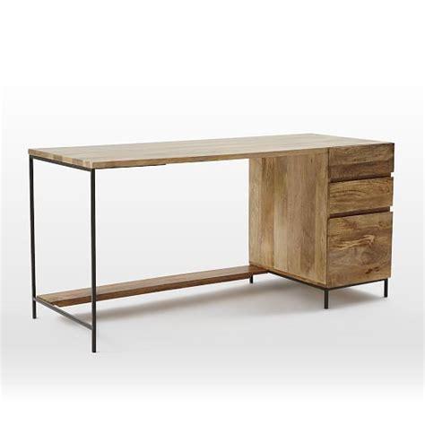 Industrial Modular Desk Set Box File West Elm