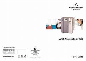 Lc  Ms Nitrogen Generators User Guide
