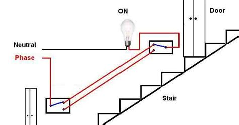 Circuit Diagram For Staircase Wiring by Ee Tym Stair Wiring Circuit