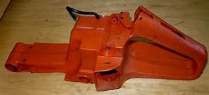 Husqvarna 268  272xp Chainsaw Fuel Tank Rear Trigger
