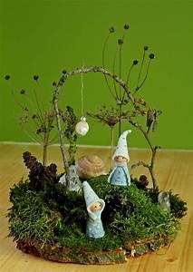 Weihnachtsdeko Aus Filz Selber Machen : kathi pirati basteln mit naturmaterial moosg rtchen feengarten pinterest moosgarten ~ Whattoseeinmadrid.com Haus und Dekorationen