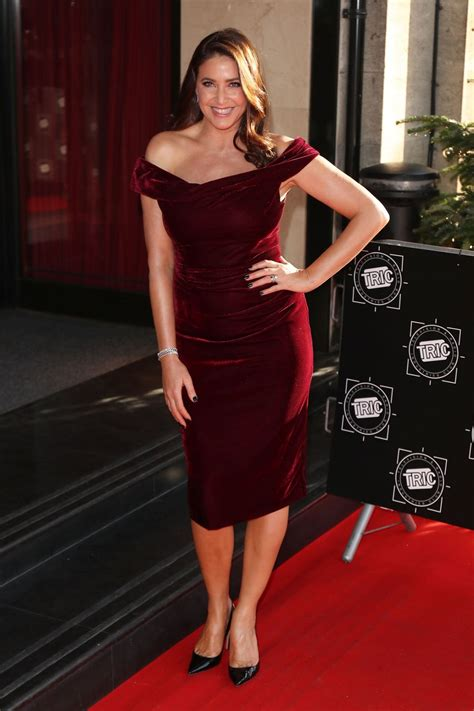 lisa snowdon  tric christmas lunch  london