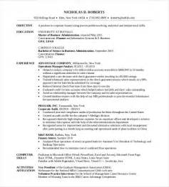 resume for mba college admission mba resume template 11 free sles exles format free premium templates