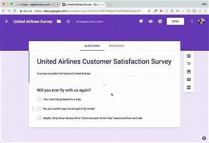 Google Forms Survey Surveys Send Follow Example