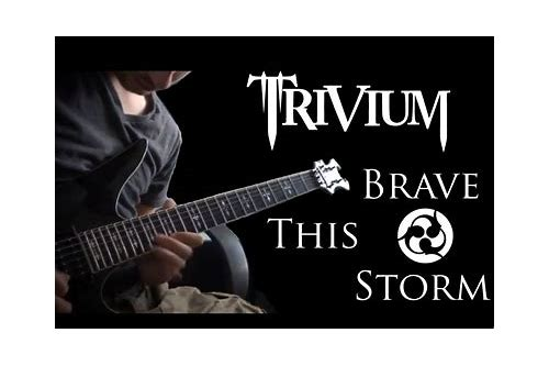 download trivium brave this storm