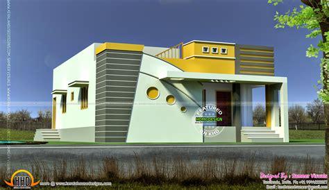 Tamilnadu model small budget house - Kerala home design