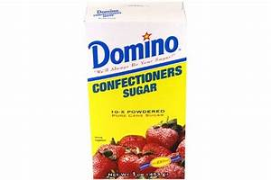 Domino Powdered Confectioners Sugar 16oz (796549823438 ...