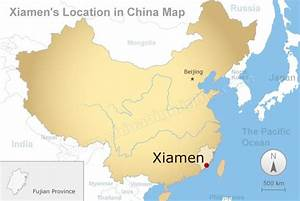 xiamen maps, Map of Xiamen and Nearby Cities