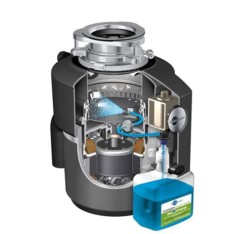 garbage disposal amazon com insinkerator evolution septic assist 3 4 hp