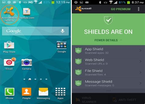 avast for android avast free antivirus for android overview and review