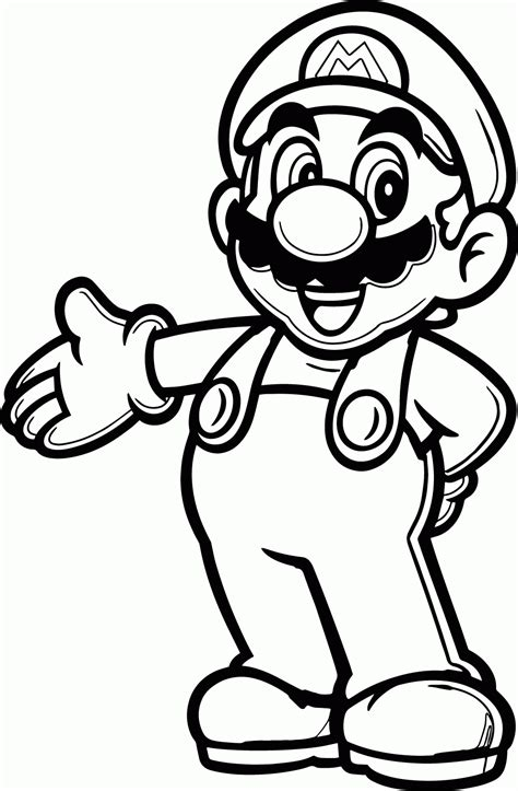 View all coloring pages from super mario bros. Super Mario Fire Flower Coloring Pages - Coloring Home