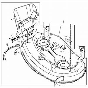 John Deere 42-inch Mower Deck Housing