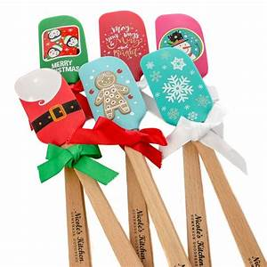 Christmas Silicone Spatula - Mini Kitchen Utensils