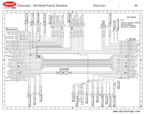 1997 Peterbilt Fuse Box Diagram by 1997 379 Peterbilt Truck Wiring Diagram Wiring Wiring