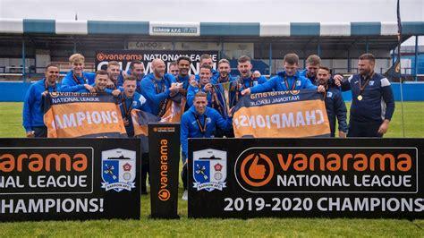 barrow win  national league title news barrow association football club