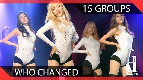 15 Kpop Groups Who Drastically Changed Concepts Youtube