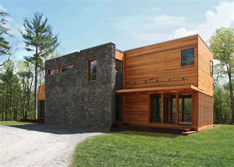 Res4's Modern Prefab Home Beautifully Combines Wood And