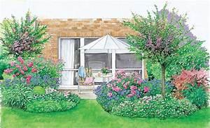 übergang Terrasse Garten : ein sch ner rahmen f r die terrasse inspiration ~ Markanthonyermac.com Haus und Dekorationen