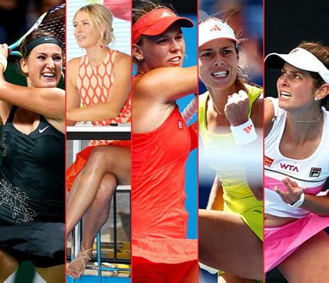 The Sexiest Female Tennis Players Australian Open