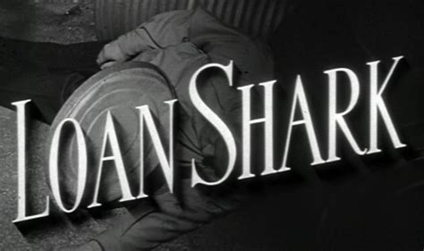 Why People Turn To Loan Sharks