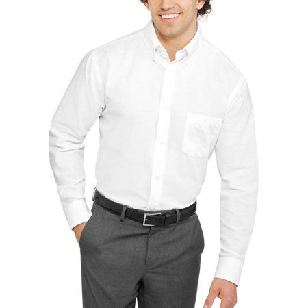 george george s sleeve oxford shirt walmart