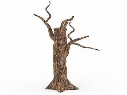 Tree 3d Dead Trunk Stump Max Clipartmag