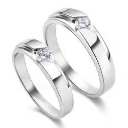 wedding bands for couples s925 sterling silver mens promise ring wedding bands matching set 4340 at 62 99