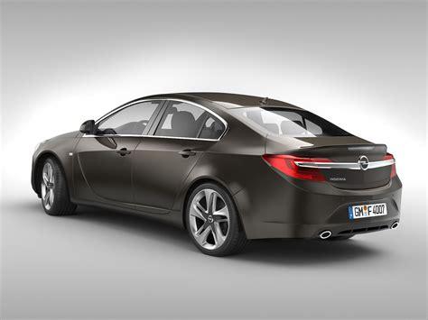 Opel Insignia 2014 3d Model .max .obj .3ds .fbx .c4d .ma
