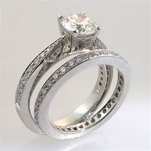 Wedding rings trio wedding ring sets yellow gold cheap for Cheap bridal wedding ring sets