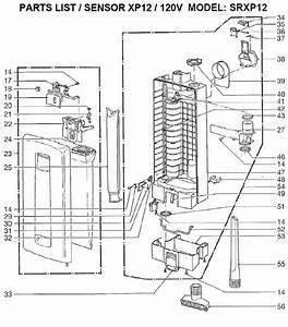 Windsor Sensor Xp Srxp12 Repair Parts  U0026 Diagrams