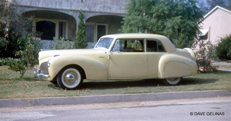 1939 Lincoln Continental Coupe