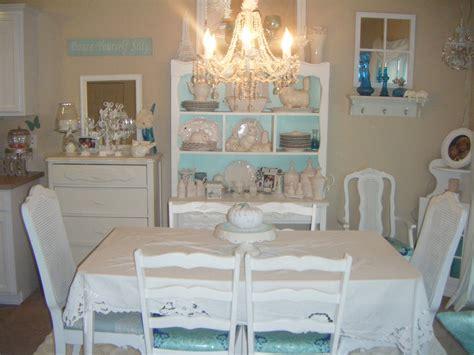 shabby shabby chic dining room