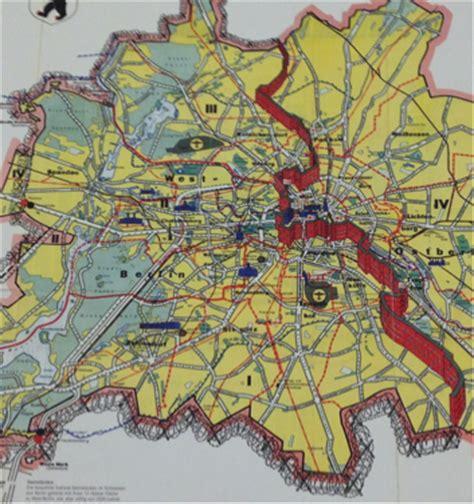 history   berlin wall  maps