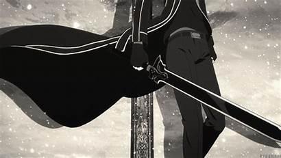 Kirito Sao Sword Kazuto Kirigaya Pose Mygifs