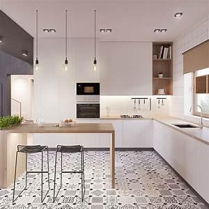 deco scandinave 50 idees pour decorer votre cuisine au With idee de deco cuisine moderne